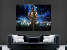 Rambo Sylvester Stallone Afiche Película Clásica Rojo de la sangre enorme grande de pared Arte