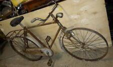 Bici Bicicletta Epoca Bianchi Freni A Bacchetta dispongo di piccolo blocco x inf