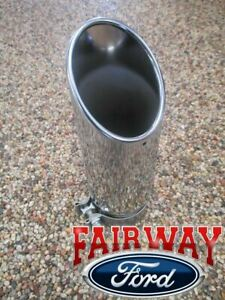 11 - 16 F250 F350 Super Duty OEM Genuine Ford Parts Chrome Exhaust Tip -Gas Only