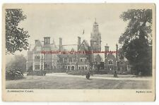 Berkshire Aldermaston Court nr Reading 1904 Vintage Postcard 20.11