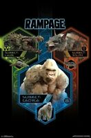 RAMPAGE - CHARACTERS - MOVIE POSTER - 22x34 - 15673