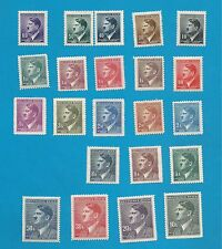 German occupation of Bohemia & Moravia No. 89-110  cpl. set  MNH  **  !!
