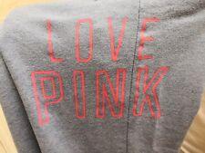 Pink Victoria's Secret Women's blue tracksuit bottoms size XS