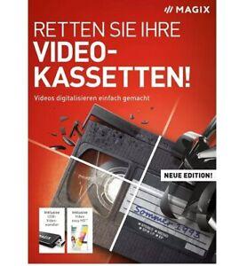 2672543 Magix Retten Sie Ihre Videokassetten 2021 - Videos digitalisieren NEU