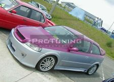 Vauxhall opel astra g 98-05 sourcils phare spoiler lightbrows eye couvercles des sourcils