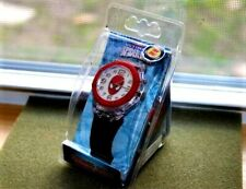 Marvel Spider-Man Flashing Color Watch N.O.S 2013 12 Hr Quartz Will Need Battery