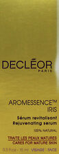 Decleor Aromessence Iris Timecare Oil Concentrate Serum 0.5oz(15ml) Brand New