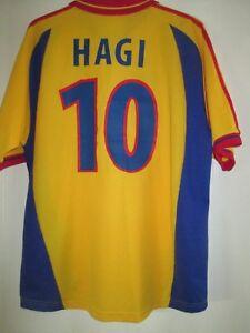 Romania 1998 Hagi #10 Home Football Shirt Size XXL /43545