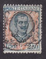 Italy - 1917 - 2.50 lira - SG187 - Used (C7B)