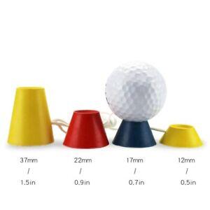 Rubber Winter Golf Tees Sporting Golf Club Equipment Golf Ball Holder 4Pcs/Set