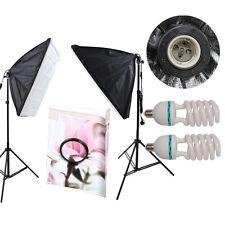 CLKIT 11 2 x 50x70cm KIT di Illuminazione continua Softbox soft box STUDIO FOTOGRAFICO