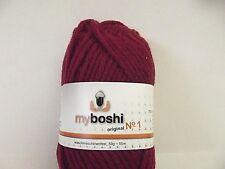 Wolle zum Stricken myboshi No 1 Fb 135 / bourdeaux ( 500 gr )
