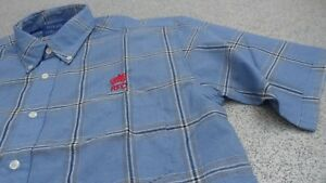Royals Collection RFC Short Sleeved Men's Shirt, M, L, XL (Button Down Collar)