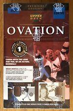 1999 Upper Deck OVATION BASEBALL Factory Sealed BOX MANTLE BAT?