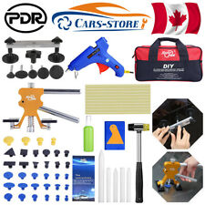 55× PDR Tools Dent Puller Lifter Car Body Paintless Tap Down HammerHail Removal