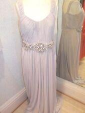 Gina Bacconi Nude Pink Dress SC29037 Size 12