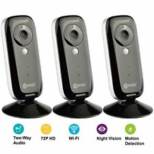 3X Contixo E1 WiFi Baby Security Monitor 720P Video Camera Motion Night Vision