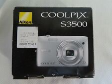 Nikon COOLPIX S3500 20.1MP Digital Camera - Silver