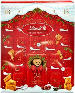 Lindt Teddy 2021 Christmas Advent Calendar 250g -SAME DAY DISPATCH