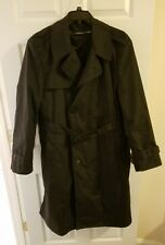 DS CP Garrison Collection Men Trench Coat with Removable Liner 48 L Black