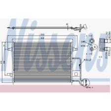 Kondensator Klimaanlage - Nissens 94592