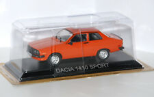 Altaya  - DACIA 1410 Sport  (Renault 12 Lizenzbau) -- 1984 - orange - 1:43 - NEU