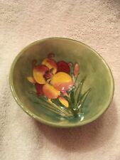 "Moorcroft ""Wisteria Plum"" bowl."