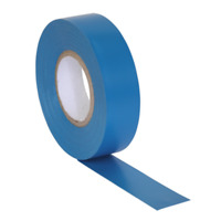 ITBLU10 Sealey PVC Insulating Tape 19mm x 20mtr Blue Pack of 10 [Tapes]