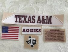 TEXAS A&M BUMPERS  with extras......RS2
