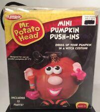 PLAYSKOOL MR. POTATO HEAD MINI PUMPKIN PUSH-INS Halloween Witch 12 PCS NEW