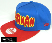 NEW ERA DC COMICS CHARACTER BUBBLE 9FIFTY A FRAME SNAPBACK CAP - SUPERMAN