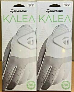 TaylorMade Women's Kalea Golf Glove 2-Pack Lot Bundle Ladies Small S #27560
