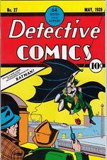BATMAN # 37 - FLIP-COVER REPRINT DETECTIVE COMICS No. 27 - DINO VERLAG - Z. 1
