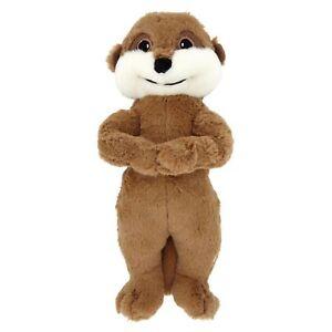 Good Boy Cute Meerkat Soft Plush Squeaker Dog Puppy Toy - 2 Sizes