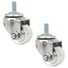 Replacement Aluminum Racing Jack Caster Wheels for 3 Ton Floor Jacks (2 Pc Set)