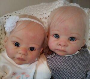Harry & Holly by Linda Murray reborn baby dolls
