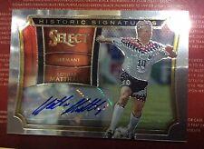 2015 Panini Select Soccer Lothar Matthaus 15/199 Germany Historic Auto Autograph