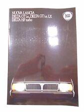 Catalogue LANCIA DELTA GT i.e., GT i.e. LX et HF Turbo