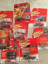 Johnnie Lightning Die Cast Cars/Trucks. Lot Of 8. New.