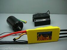 VXP Conversion Kit Power Unit 200A ESC 3-16S HPI Baja Flux 1/5 5BRovan KM Buggy