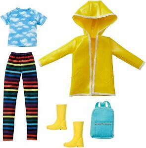 """Mattel GKV37 Creatable World Rainy Day Style Pack RD-065,fit 9"""" 10"""" 11"""" doll 1:6"""