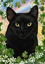 Clover House Flag - Black Cat 31951