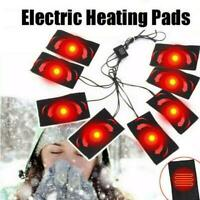 Electric USB Vest Jackets Clothes Heating Pad Heater Winter Warm Thermal Warming