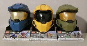 Halo Mega Construx GWY97 - GWY98 - GWY99 Lot of 3 Brand New