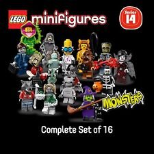 LEGO 71010 Minifigures Series 14 -  MONSTERS (complete set of 16)