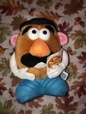 "VTG Mr Potato Head Black Head 10""plush Blue Shoes Stuffed Doll 1999"