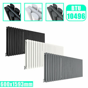 Vertical Horizontal Central Heating Radiator Traditional Oval Flat Panel Design