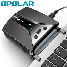 OPOLAR New Laptop PC Cooler Fan with Temperature Display&Cooling Pads,Auto-Temp