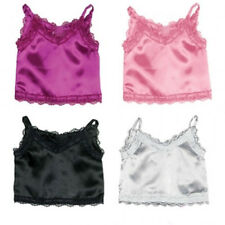"""New Satin Berry Color Cami fits American Girl and similar-sized  18"""" dolls"""