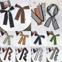 Handle Wraps Small Silk Scarf Ribbon Neckerchief Hair Neck Tie Band Neckwear